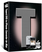 DVD to iPhone Converter for Mac Box