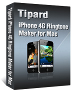 iPhone 4G Ringtone Maker for Mac Box
